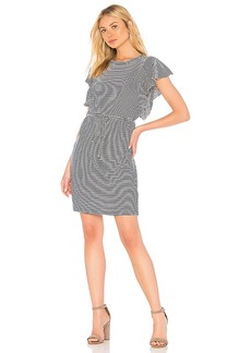 Splendid Graph Linen Stripe Dress