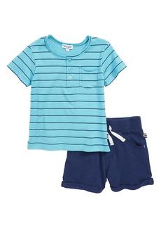 Splendid Henley T-Shirt & Shorts Set (Baby Boys)