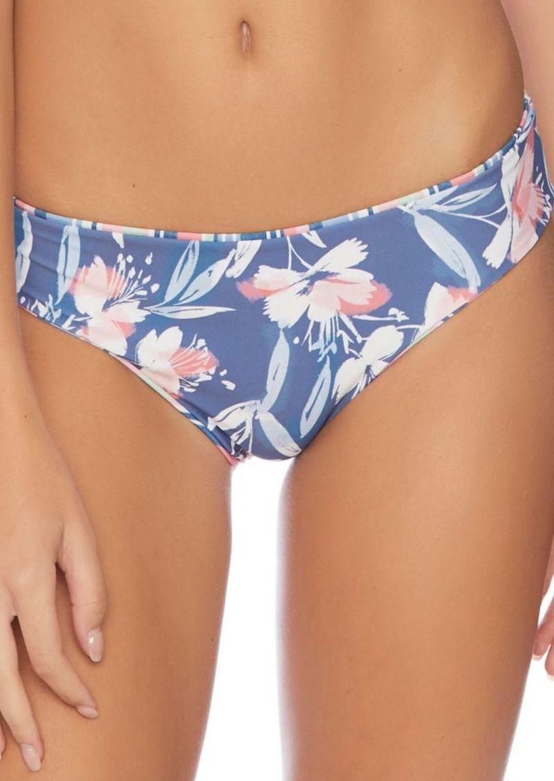 Splendid Holding Pattern Reversible Retro Bikini Bottom