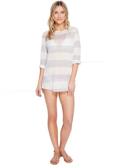 Splendid Homespun Tunic Cover-Up