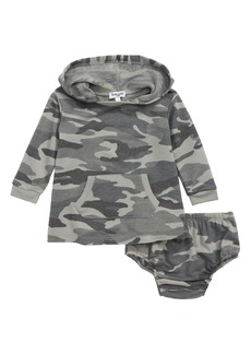 Splendid Hooded Camo Dress (Baby Girls)