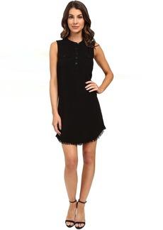 Indigo Crosshatch Dress