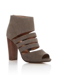 Splendid Jackie Embossed Caged Sandals