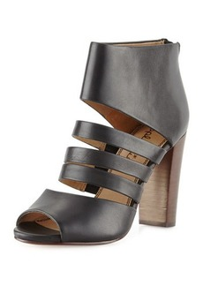 Splendid Jackie Strappy Leather Bootie