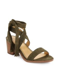 Splendid Janine Strappy Suede Sandals