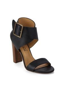 Splendid Jayla Embossed Leather Sandals