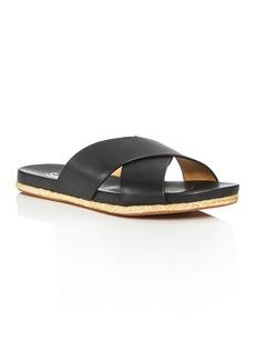 Splendid Jenni Crisscross Espadrille Slide Sandals