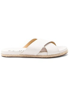 Splendid Jenni Sandal in White. - size 10 (also in 7.5,9.5)