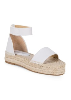 Splendid Jensen Leather Strap Espadrilles
