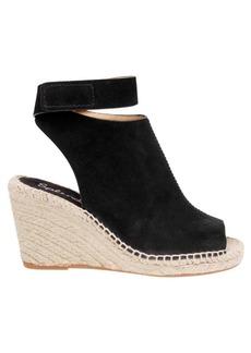 Jeren Leather Wedge Sandals