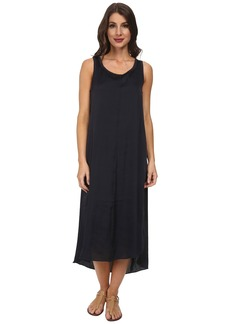 Splendid Jersey Woven Mix T Length Dress