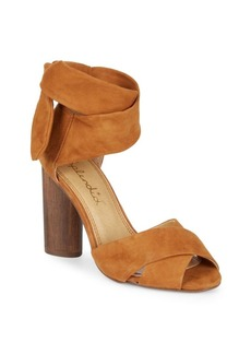 Splendid Johnson Suede Block Heels