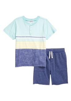 Splendid Kids' Sunkissed Stripe T-Shirt & Shorts Set (Toddler & Little Boy)