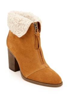 Splendid Kiley Bootie with Faux Shearling Trim (Women)