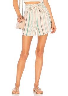 Splendid La Paz Stripe Shorts