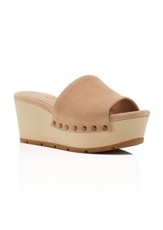 Splendid Lana Platform Slide Sandals