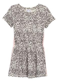 Splendid Leopard Print Dress (Toddler Girls & Little Girls)