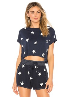Splendid Liberty Star Crop Tee