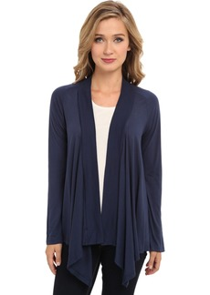 Splendid Light Jersey Drape Cardigan  MD (Women's 6-8)