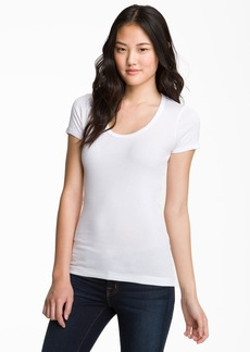 Splendid Lightweight Scoop Jersey Tee
