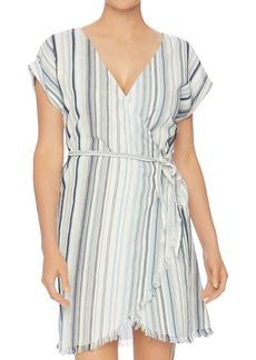 Splendid Line of Sight Wrap Dress Swim Cover-Up