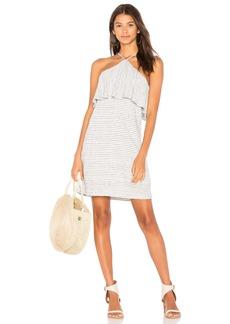 Linen Mini Stripe Dress