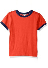 Splendid Little Boys' Seasonal Basic Ringer Tee