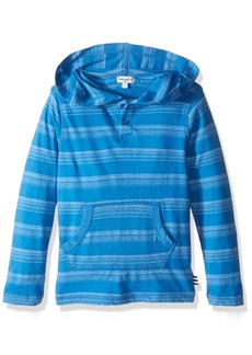Splendid Little Boys' Toddler Long Sleeve Classic Stripe Hooded Top