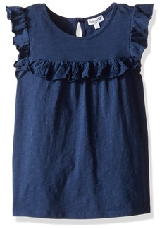 Splendid Girls' Little Always Flutter Sleeve Knit Top  4/5