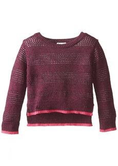 Splendid Little Girls' Toddler Full Fashion Marled Sweater Toddler