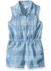 Splendid Little Girls' Gingham Plaid Romper