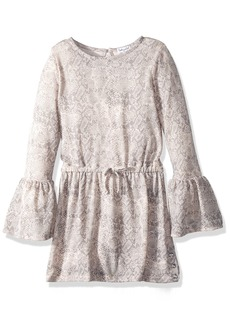 Splendid Little Girls' Python Loose Knit Dress