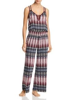 Splendid Long Pajama Jumpsuit