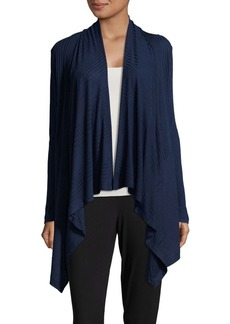 Splendid Long-Sleeve Open Front Cardigan