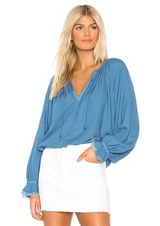 Splendid Long Sleeve Peasant Top