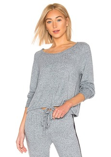 Splendid Long Sleeve PJ Top