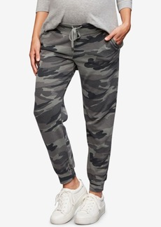 Splendid Maternity Camouflage Jogger Pants