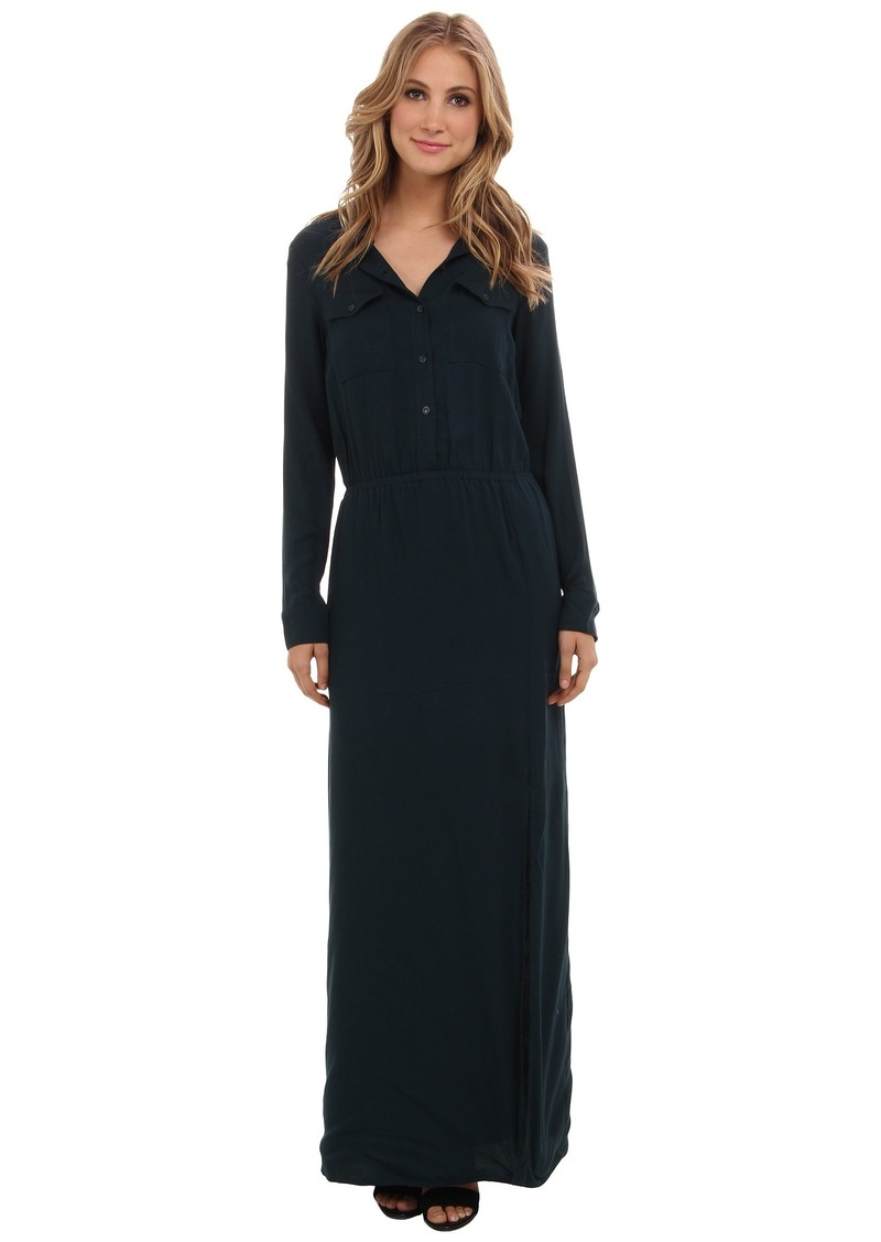 Splendid Maxi Shirt Dress
