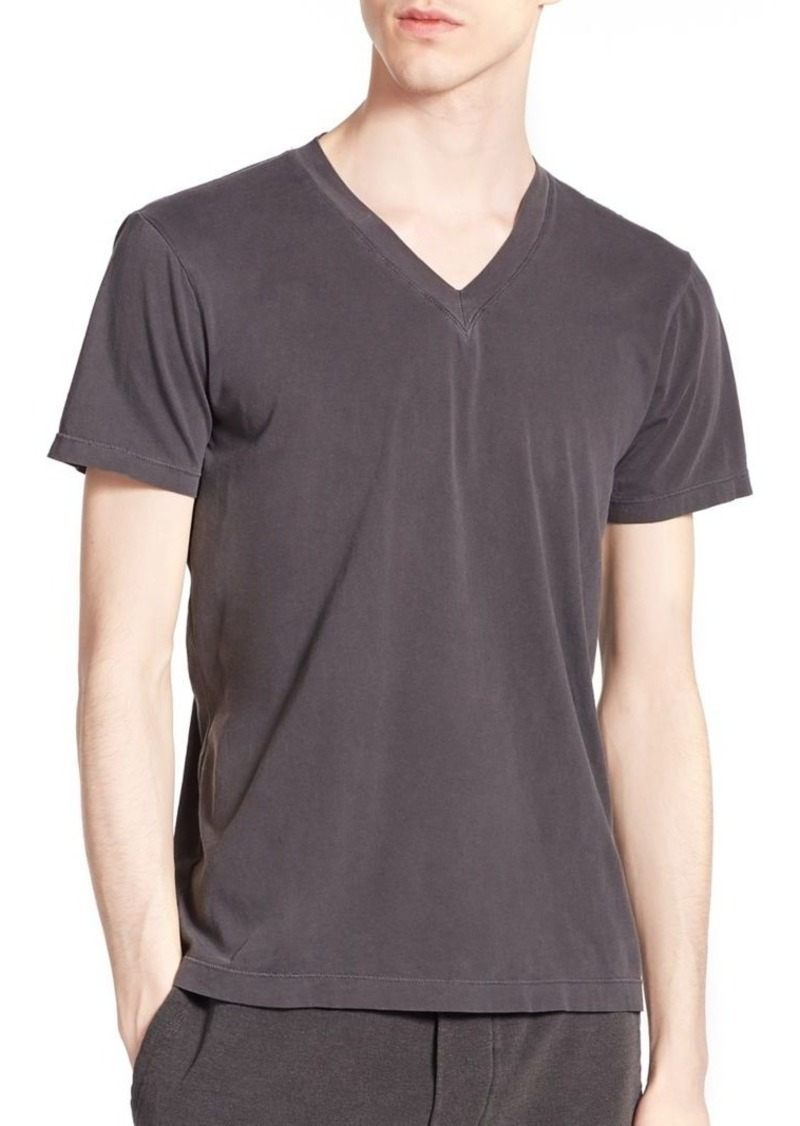 Splendid Mills Cotton V-Neck Tee
