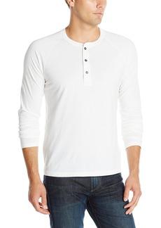 Splendid Mills Men's Pigment Long-Sleeve Raglan T-Shirt