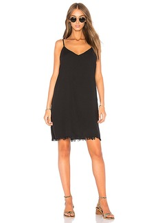 Splendid Mini Slip Dress in Black. - size S (also in XS)