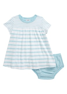 Splendid Mélange Stripe T-Shirt Dress (Baby)
