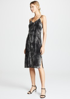 Splendid Moonstone Velvet Slip Dress