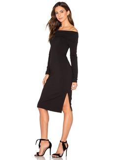 Splendid Off Shoulder French Terry Dress
