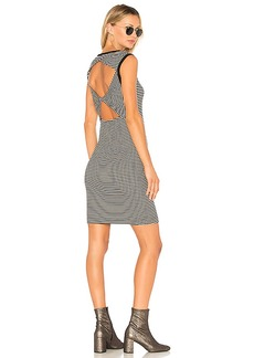 Splendid Open Back Tank Dress in Black in Black. - size L (also in M,S,XS)