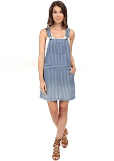 Oroya Indigo Railroad Overall Dress