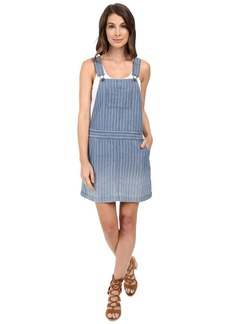 Splendid Oroya Indigo Railroad Overall Dress