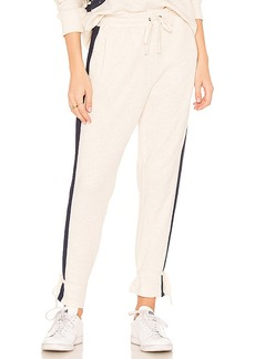 Splendid Pacifica Track Pant in Beige. - size L (also in M,S,XS)