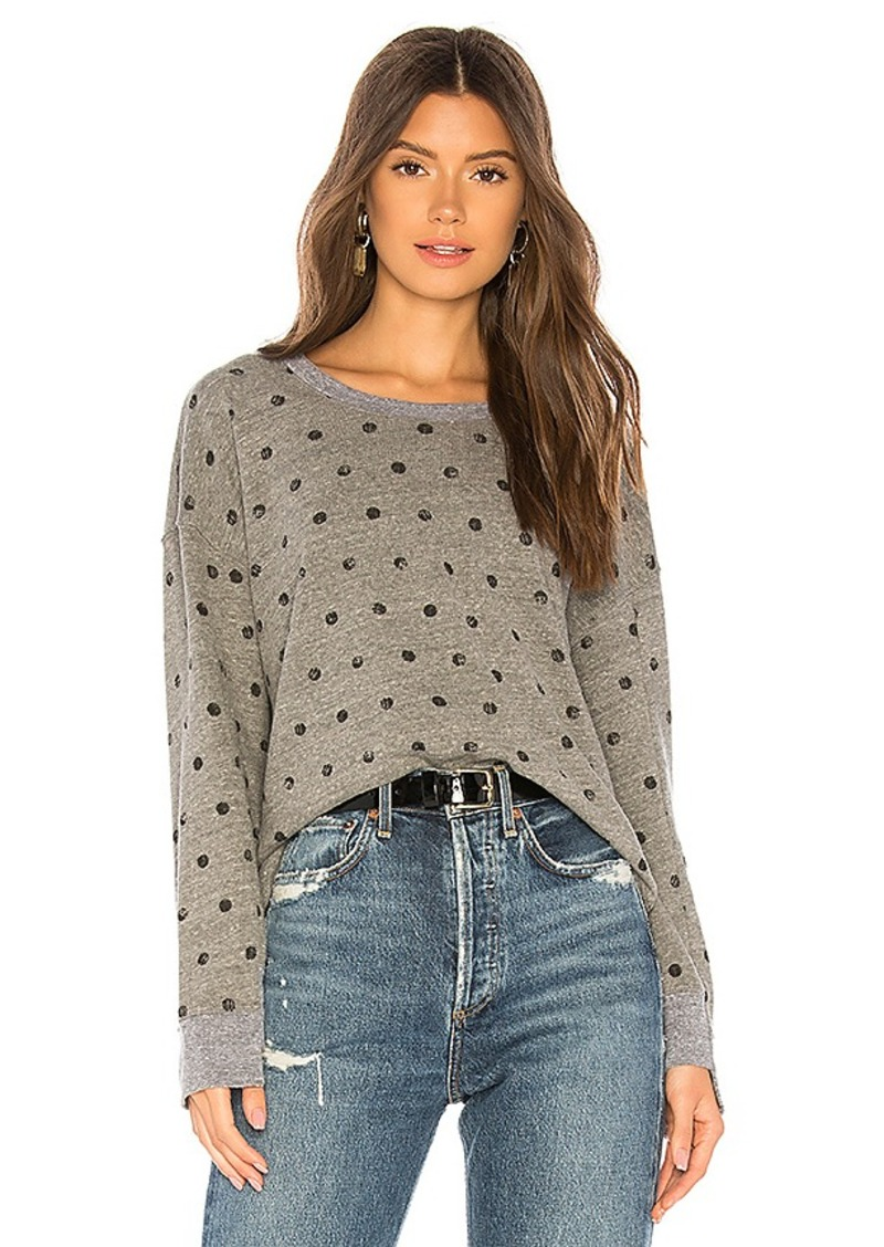 Splendid Paint Dot Sweatshirt