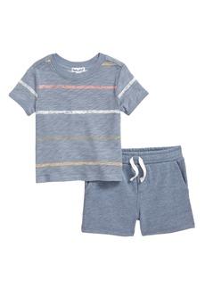Splendid Painted Stripe T-Shirt & Shorts Set (Baby)